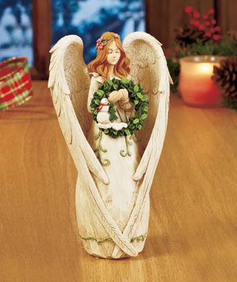Seasonal Angel Figurine