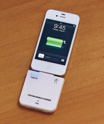 Cell Phone Battery Recharge Packs