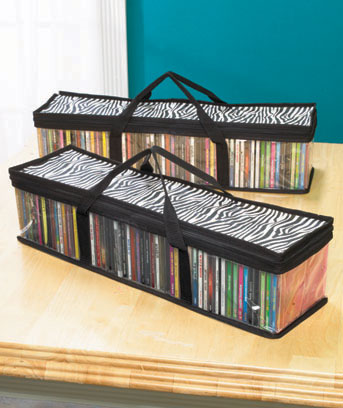 Sets of 2 CD or DVD Storage Bags