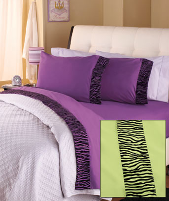 Textured Zebra Trim Sheet Sets