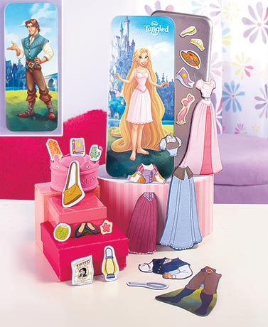 Tangled Disney� Magnetic Paper Dolls