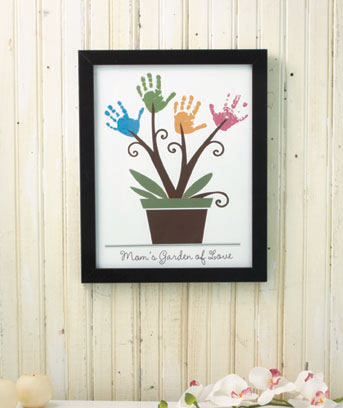 Framed Handprint Wall Art