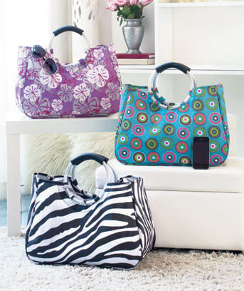 Fashion Print Tote Bags