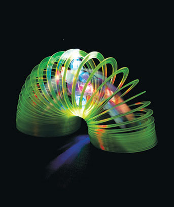 Light-Up Color-Changing Slinky