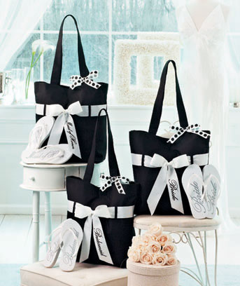 Wedding Tote and Flip-Flop Sets