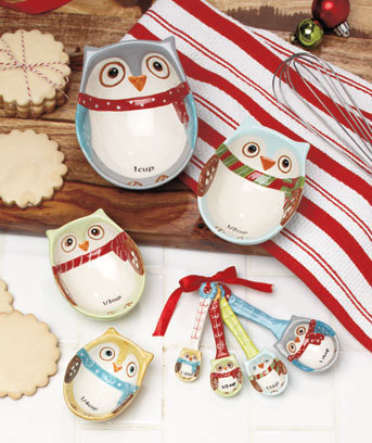 Snowy Owl Measuring Sets