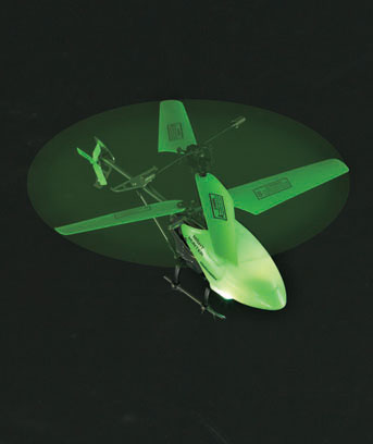 R/C Glow-in-the-Dark Helicopter