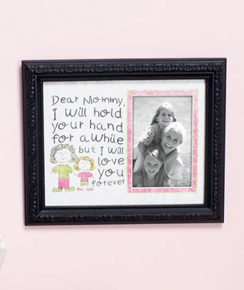 "Sentimental ""Dear"" Photo Frames"