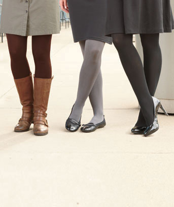 3-Pair Assorted Fleece-Lined Tights