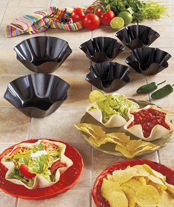 Tortilla Bowl Bakers