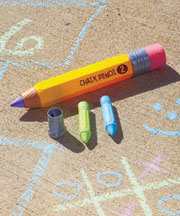 Giant Chalk Pencil with Sharpener