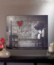Personalized Street Scene Wall Art