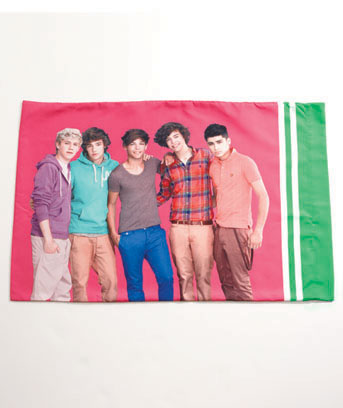 One Direction Reversible Pillowcase