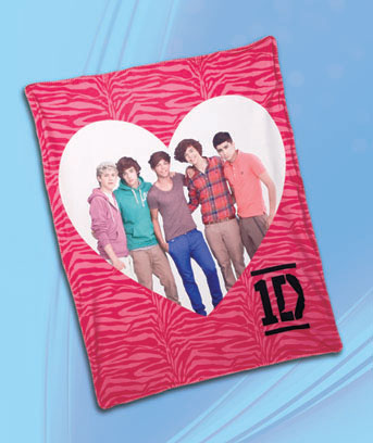 One Direction Fleece Throw
