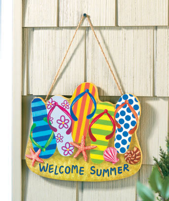 Spring Welcome Signs