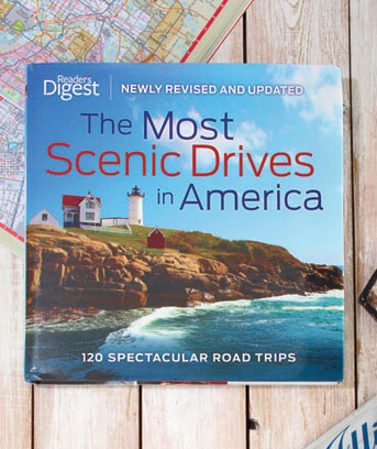 The Most Scenic Drives in America Book