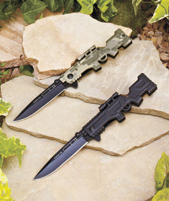 Rifle-Shaped Knives