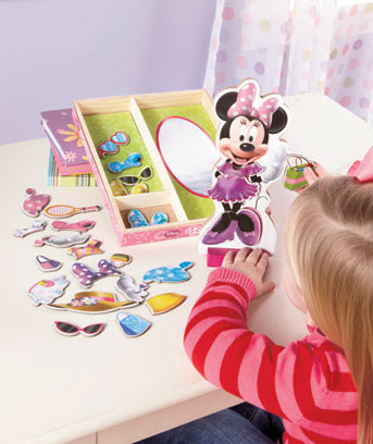 28-Pc. Disney Magnetic Wooden Dress-Up Sets