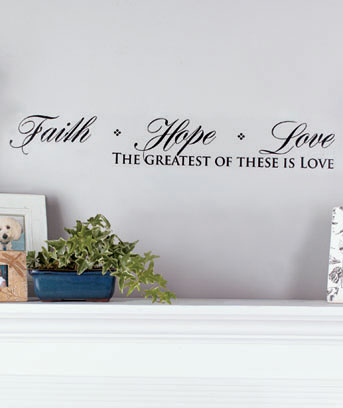 "32"" Classic Wall Quote Appliques"