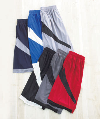 Men's Sets of 3 Mesh Active Shorts