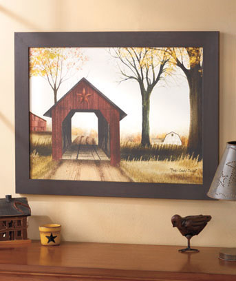 "27"" X 21"" Country Road Wall Art"