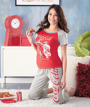 Coca Cola Women's Licensed Loungewear Sets