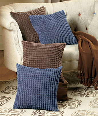 2-Pc. Plush Pillow Sets