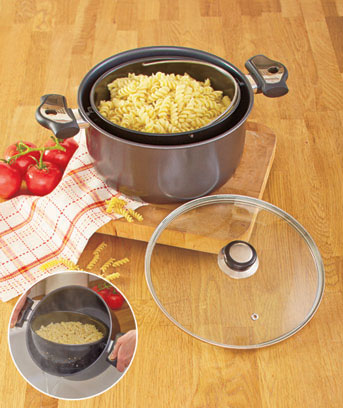 3-Pc. Nonstick Tilt Cookware Set