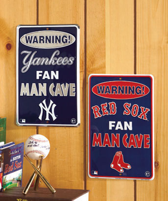 MLB™ Man Cave Signs