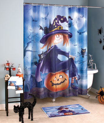 Halloween Witch Bath Ensemble