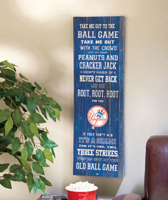 MLB™ Ballgame Wall Art