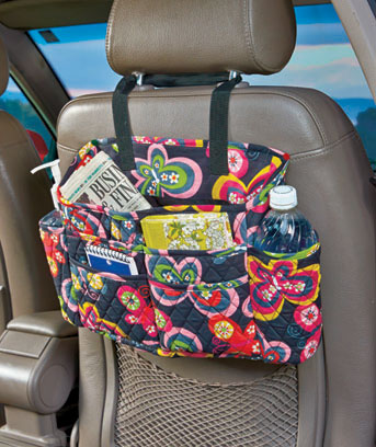 2-Pc. Quilted Auto Organizer Sets
