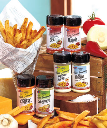 Sets of 2 French Fry Seasonings