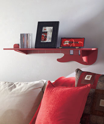 Musical Themed Wall Shelves