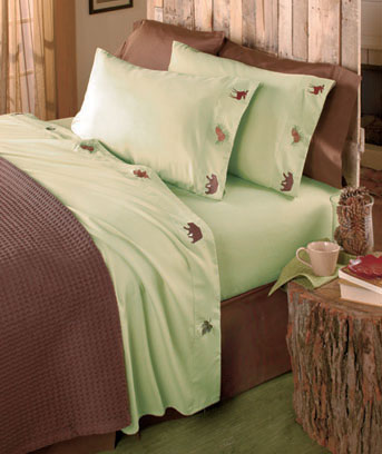 Lodge Embroidered Sheet Sets