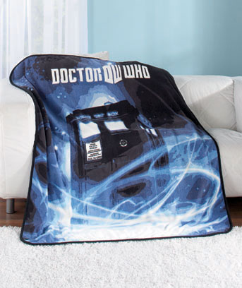IDoctor WhoI Plush Throw