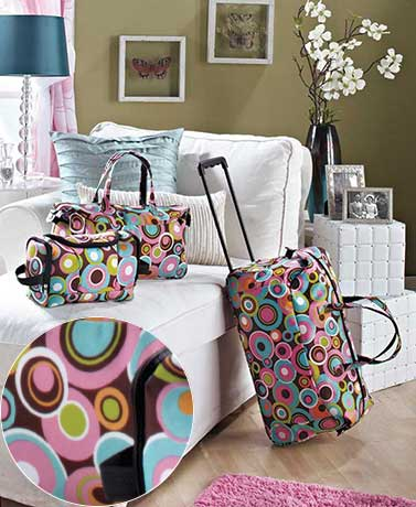 3-Pc. Trendy Luggage Sets