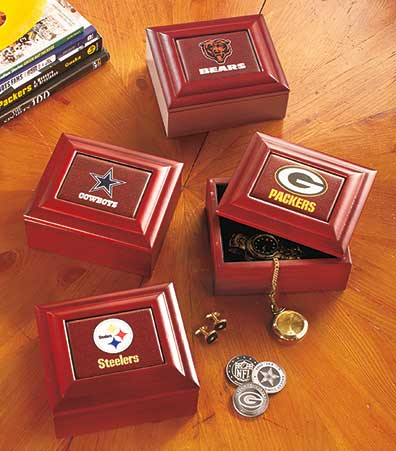 NFL Keepsake Boxes