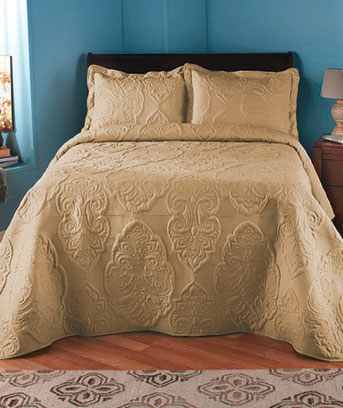 Oversized Solid-Stitched Quilts or Shams