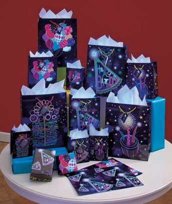 26-Pc. Glow-in-the-Dark Gift Bag Sets