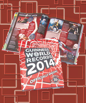 2014 Guinness World Records® Book