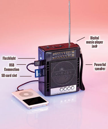 Rechargeable Multifunction Radios