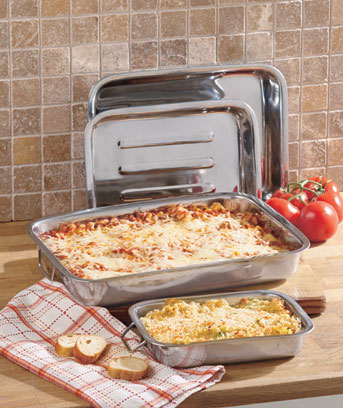 Set of 4 Lasagna Baking Pans