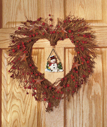 Interchangeable Seasonal Wreath