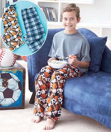 Boys' 2-Pk. Flannel Lounge Pants