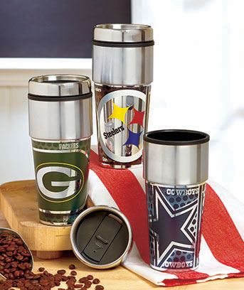 NFL 360� Wrap Travel Tumblers