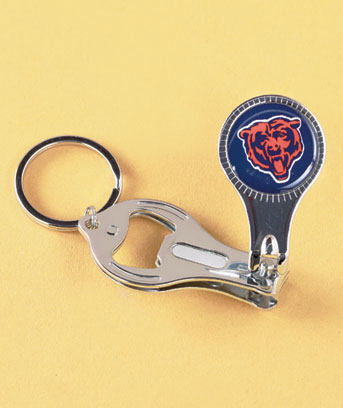 NFL 3-in-1 Key Chains