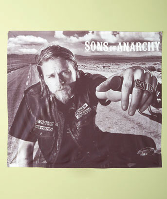 Sons of Anarchy Jax Fleece Throw