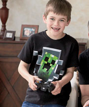 Youth Minecraft™ Creeper T-Shirt