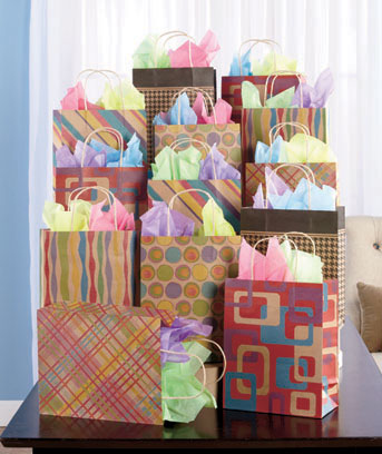 Kraft Gift Bag or Tissue Sets